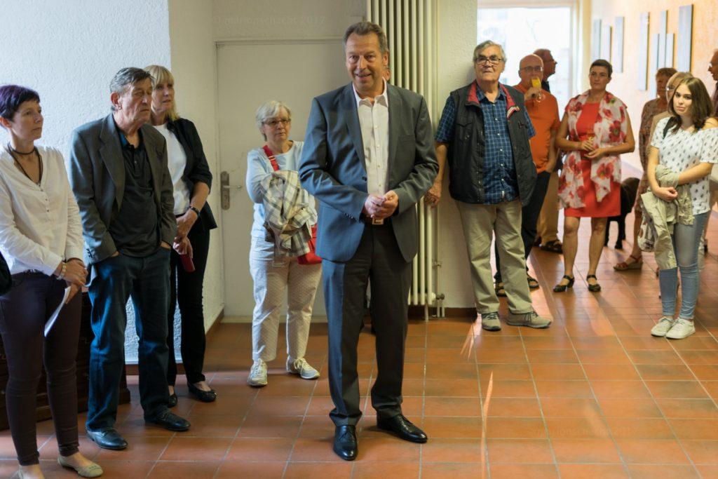 Eröffnung durch Bürgermeister Wagner - Opening speech by Mayor Wagner